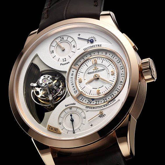 Nouvelle montre Duomètre Sphérotourbillon Jaeger Lecoultre