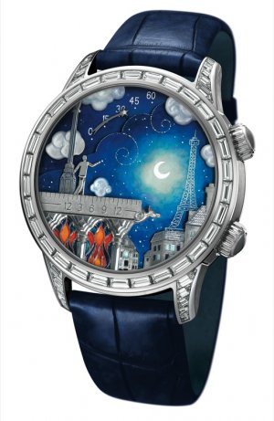 Montre sihh 2012 Van Cleef and Arpels Poetic Wish © Van Cleef & Arpels