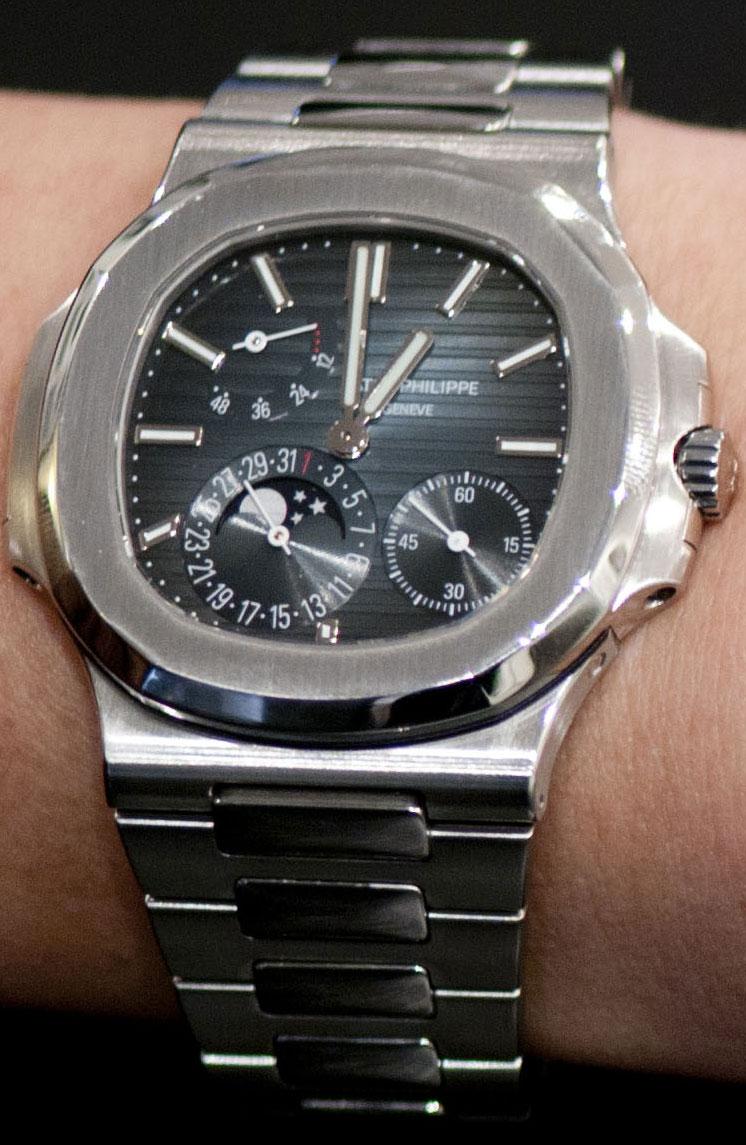 patek philippe nautilius-cresus montres de luxe d'occasion