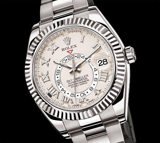nouvelle montre Rolex sky dweller nouvelle perspective du luxe copyright Rolex