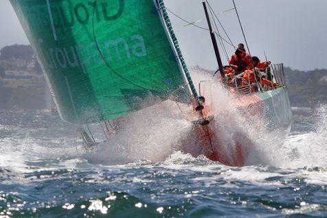 franck cammas remporte la course de voile volvo ocean race