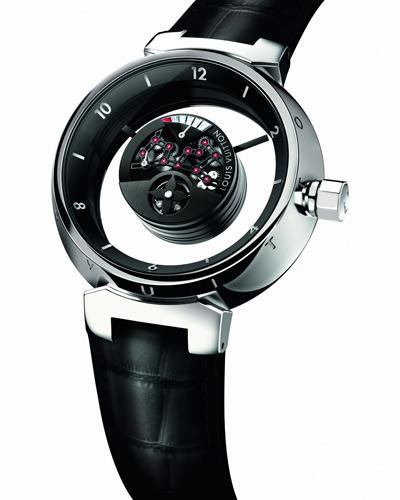 louis vuitton montre tambour mystérieuse