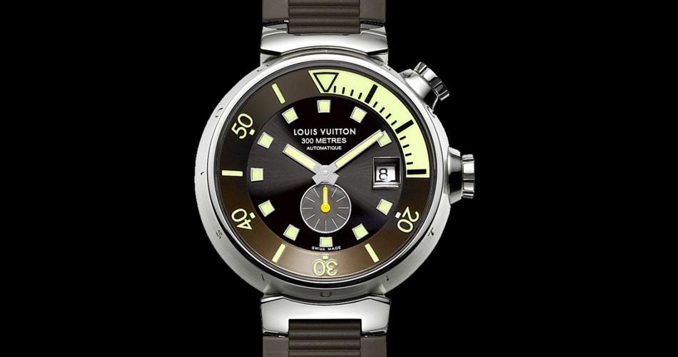 montre tambour diving louis vuitton