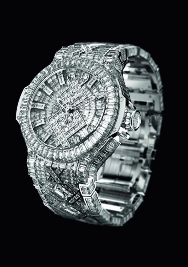 montre hublot 5 million dollars vendue à Beyoncé pour Jay Z copyriht Hublot-