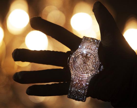 hublot-watch-montre-5-millionsdollars la plus chère du monde copyright Reuters Hublot