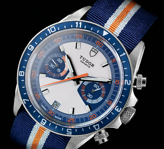 Montre Tudor Heritage Chrono Blue copyright Tudor #Baselworld 2013