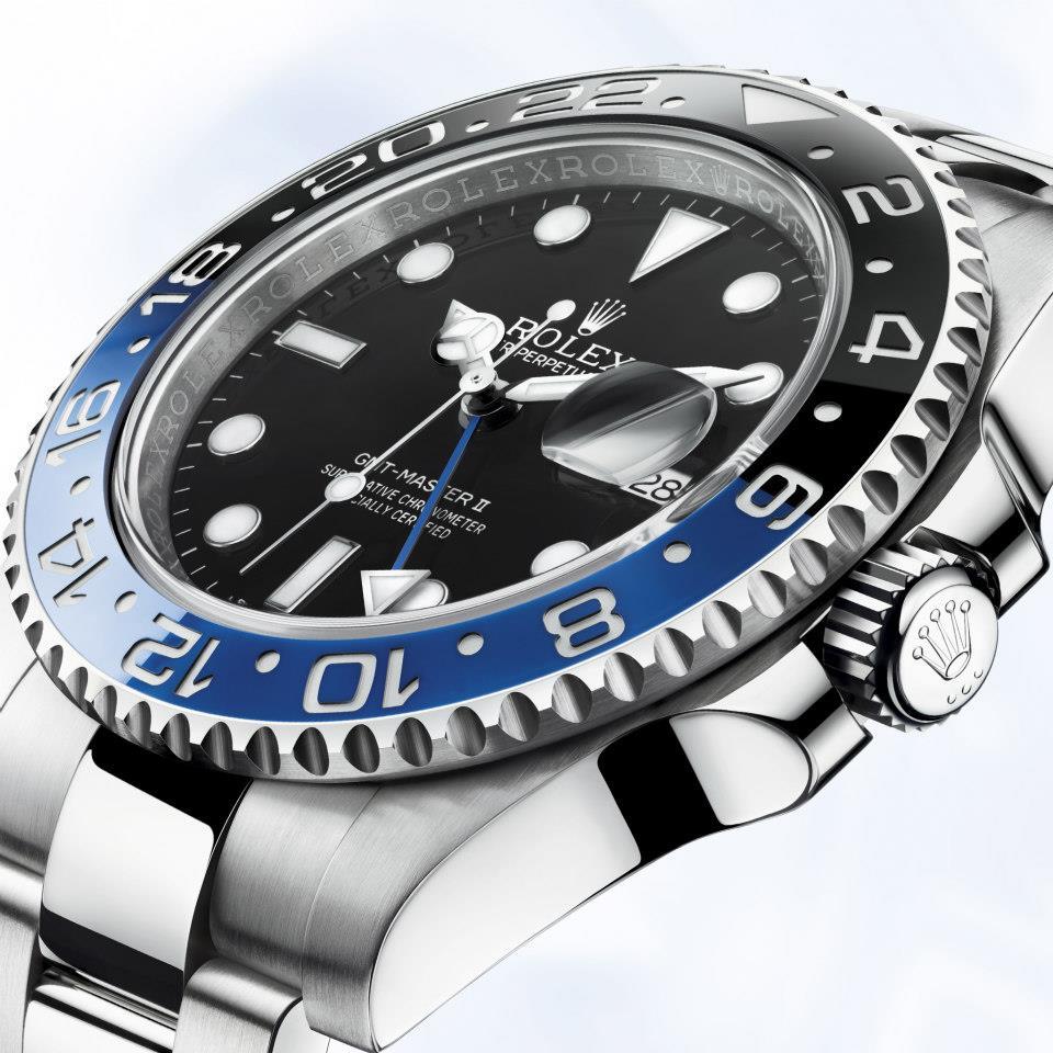 nouvelle montre Rolex GMT Master II 116710BLNR copyright Rolex