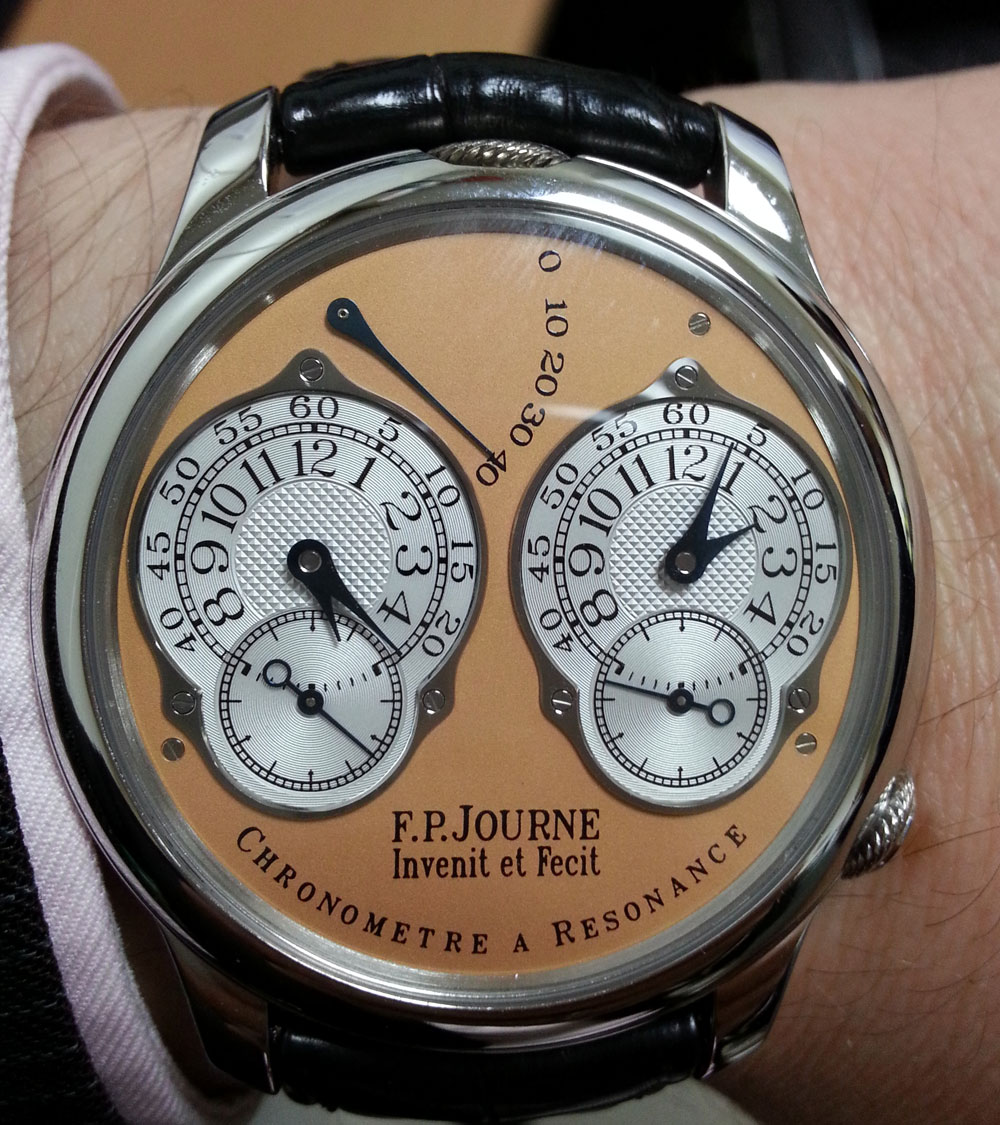 montre FP Journe Chronomètre à Résonance Dual Time cresus