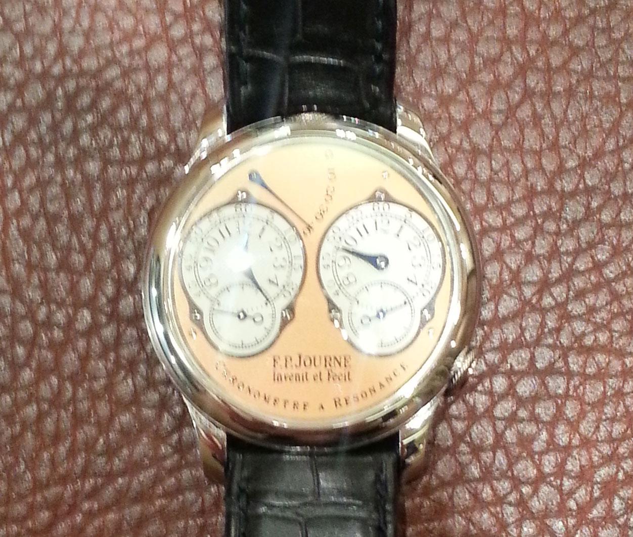 FP journe montre Chronomètre à Résonance Dual Time cresus