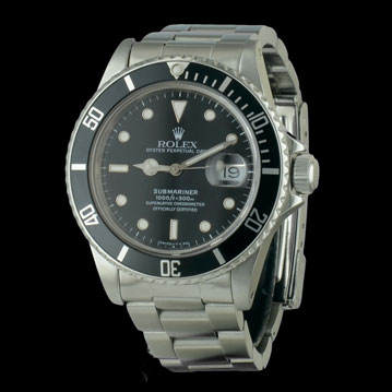 photo_1-montre-ROLEX-Submariner-Date--Vintage-24534 montre de luxe cresus occasion