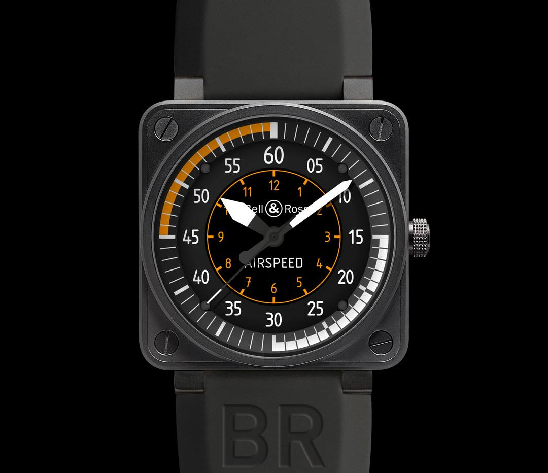 montre bell and ross coffret only watch 2013 BR 01 Airspeed