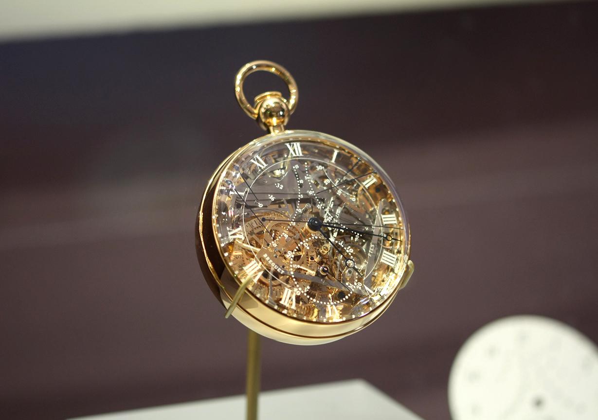 réédition de la montre de MArie Antoinette Breguet