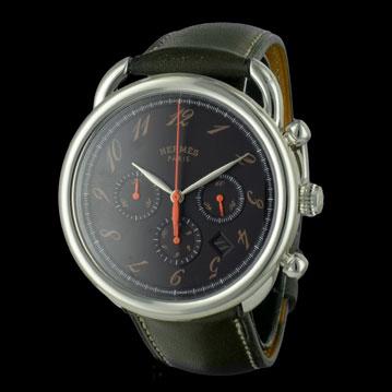photo_1-montre-hermes-arceau-chronographe-25470 montres de luxe d'occasion cresus