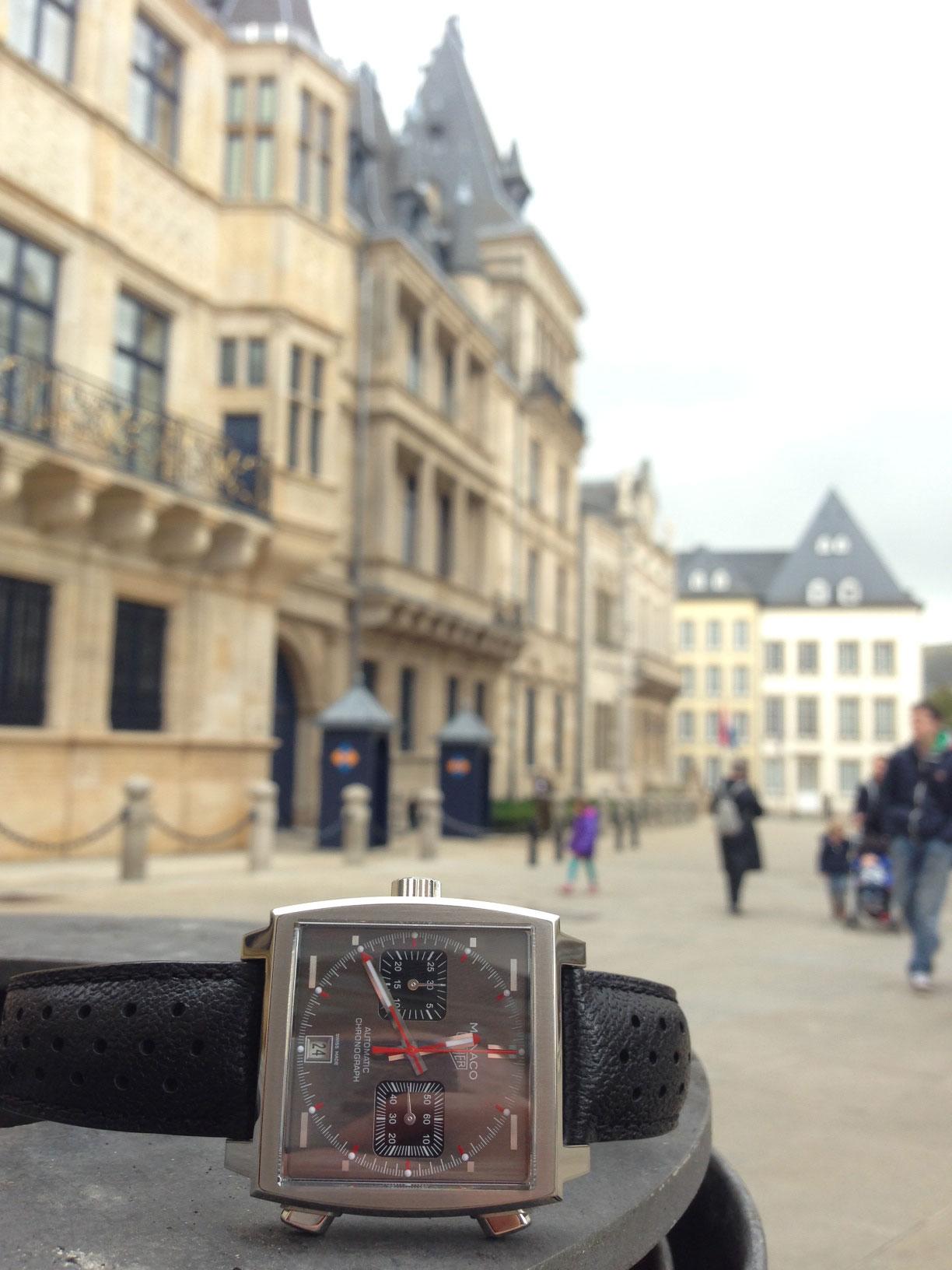 Monaco Tag heuer montre de luxe d'occasion cresus