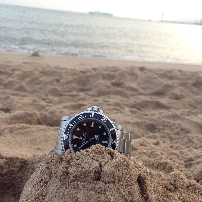 Rolex submariner montre de luxe d'occasion cresus