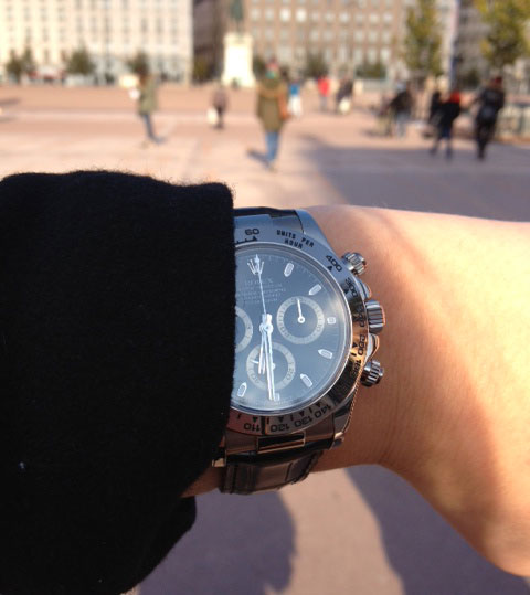 photo rolex daytona cresus lyon montre de luxe d'occasion