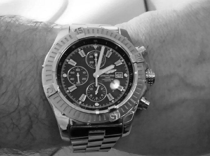 montre breitling super avenger chronographe