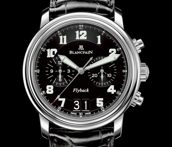 blancpain-leman-flyback-chronograph-montre de vladimir poutine