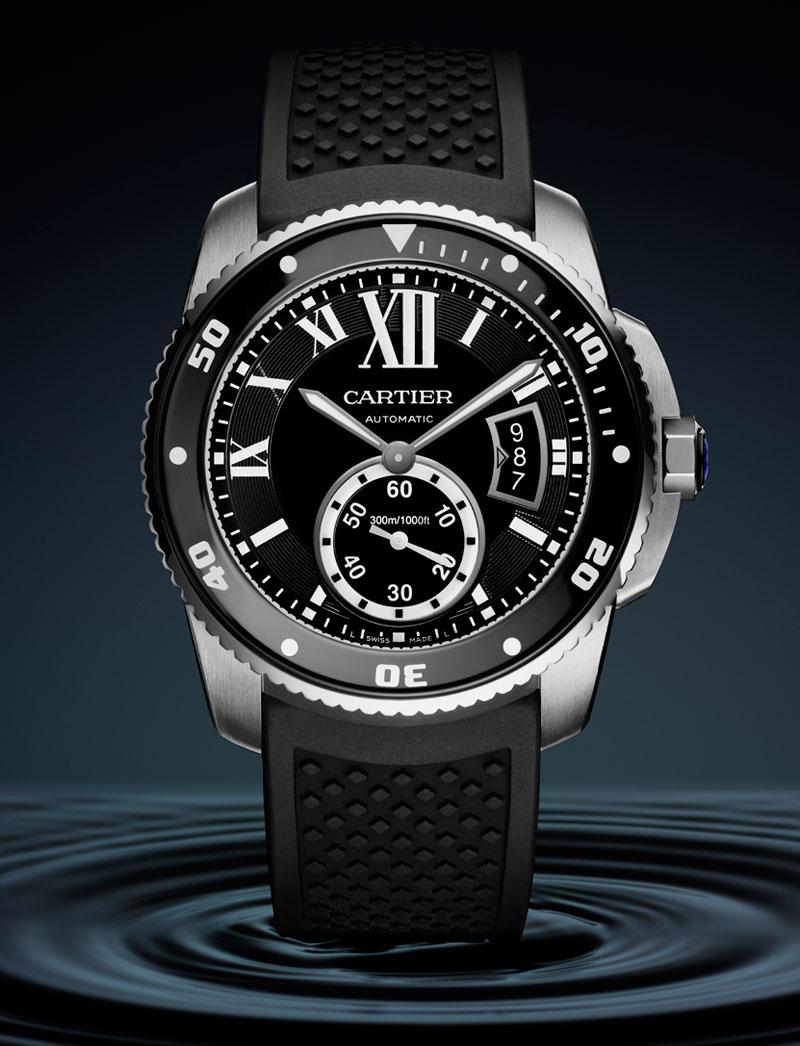 calibre-de-cartier-diver-montre de luxe copyright Cartier