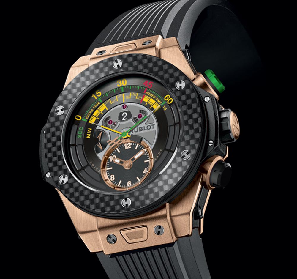 montre Big Bang Unico Chrono Bi-rétrograde hublot chronométreur officiel coupe du monde football FIFA brésil 2014