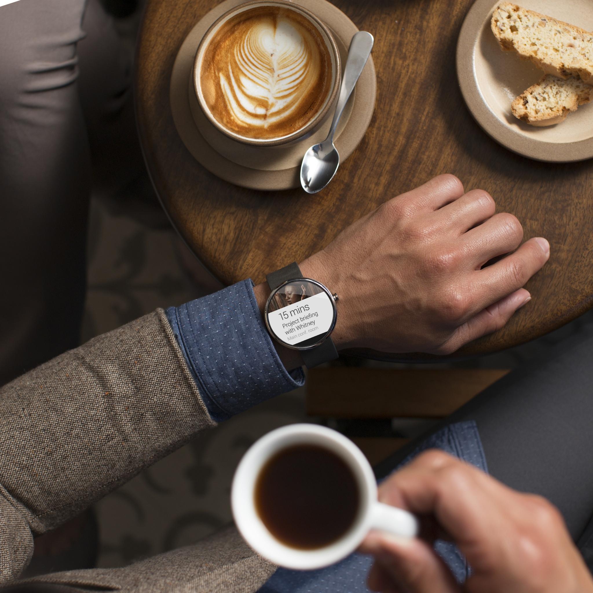 Motorola-Moto-360 montre connectée