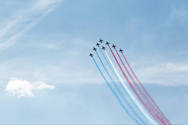 Patrouille de France-Salon du Bourget 2015