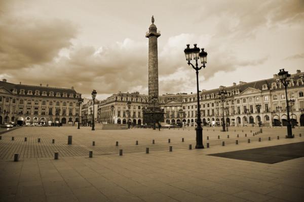 La place Vendôme- Paris