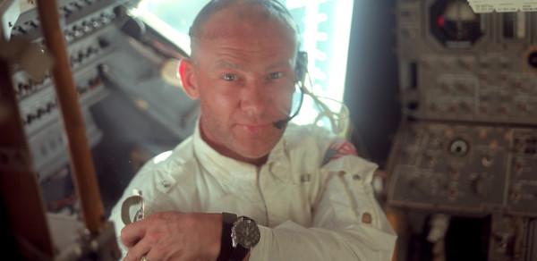 Buzz aldrin et sa montre Speedmaster