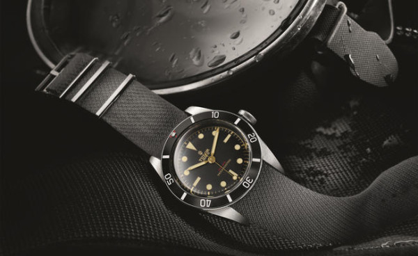 Tudor heritage black bay one only watch