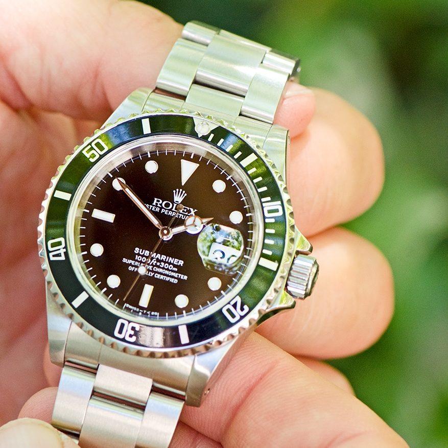 portrait-un-gagnant-une-passion-une-Submariner-montre-luxe-rolex-