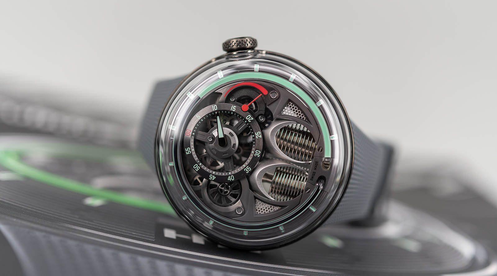 HYT, une manufacture horlogère pionnière du « temps fluidique »