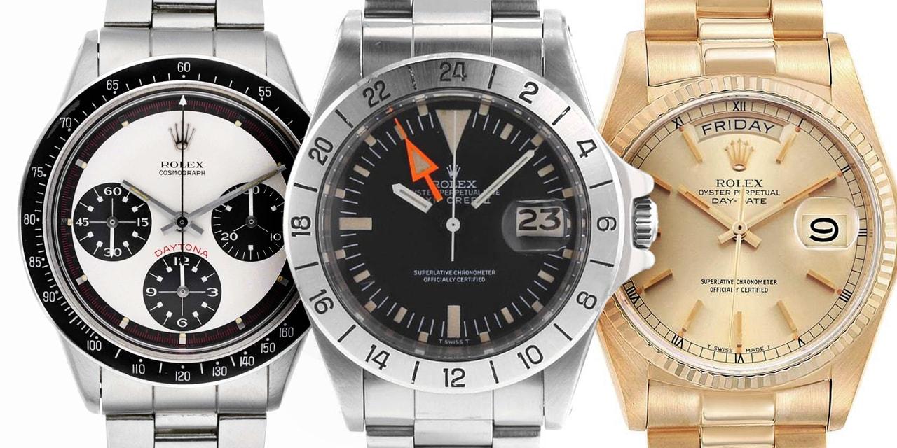 Les Surnoms des montres Rolex