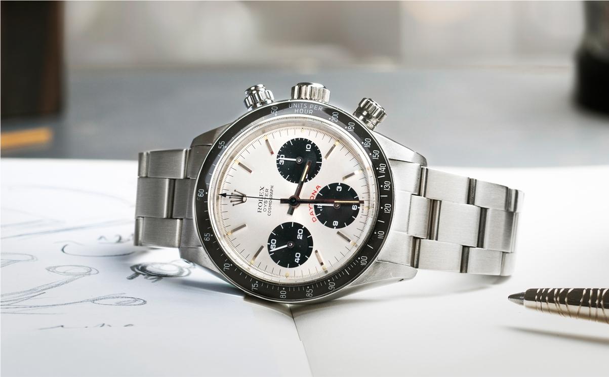 Une des montres les plus recherchée du monde :  La Rolex Cosmograph Daytona 6263 Big Red chez Cresus