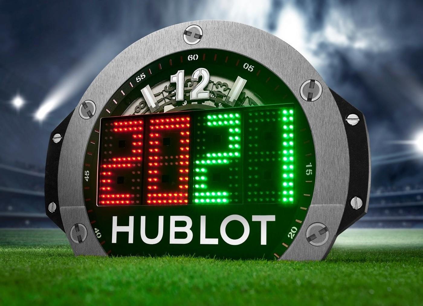 Hublot : partenaire indéfectible du football